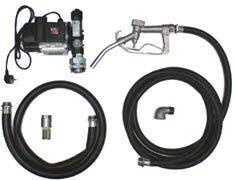 Модуль топливозаправочный ETP-60A-1 с комплектом шлангов и пистолетом /дизельное топливо, жидко масло/