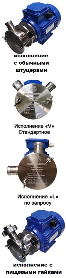 Насосы импеллерные НСУ-АМ