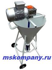 Установки вертикальные УВН-Р с мотор-редуктором /подача растворов под высоким давлением/