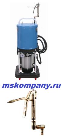 Нагнетатель смазки электрический TP716E с электронасосом и баком на 20 л