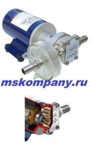 Шестеренный насос для перекачивания дизельного топливана 24 вольта UP-4_24В