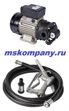 Насосная установка для дизтоплива 220 вольт ETP-100A1 АС 220