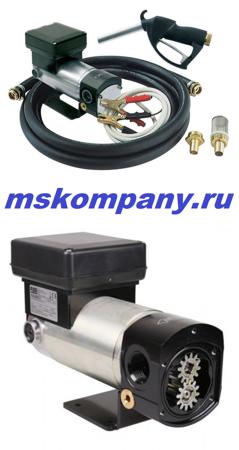 Комплект для откачки масла с насосом Battery Viscomat 24V