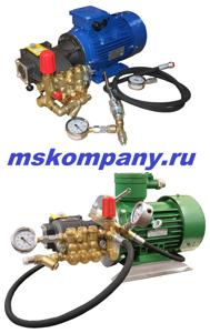 Опрессовочные насосы высокого давления серии ЕНА ( от 120 до 250 атм)