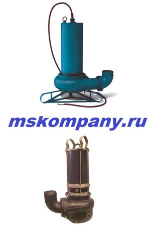 канализационный насос ЦМК 16-27 с измельчителем