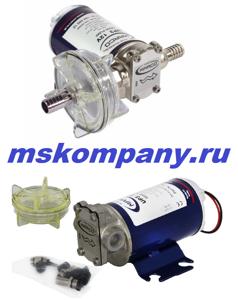 Шестеренный самовсасывающий насос на 24 вольта для перекачивания дизельного топливаUP-3_24В