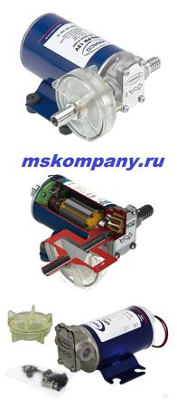 Шестеренный насос для солярки на 12 вольт UP-9_12В