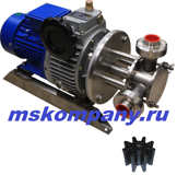 Насос импеллерный НСУ-2,4/16-0,75-МВ (с вариатором)