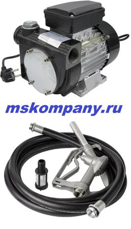 Насосная установка для дизтоплива 220 вольт ETP-80A1 АС 220
