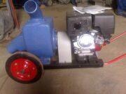 Дренажный насос АНС-130 на тележке