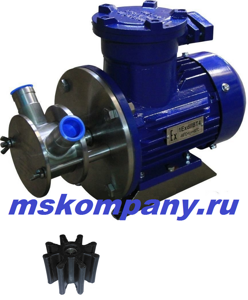 Импеллерный насос НСУ-4-АМ для топлива (взрывозащищенный)