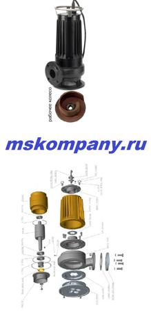 Насос фекальный погружной  ЦМФ 25-10 РМ