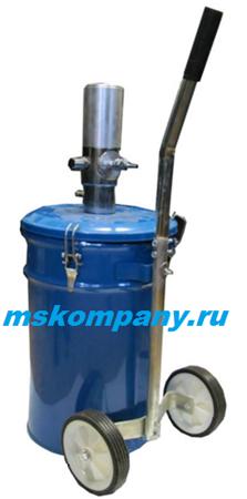 Нагнетатель пневматический TP703 с баком 25 л
