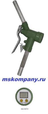 Заправочный пистолет счетчик DLY-25 дизельное топливо, керосин