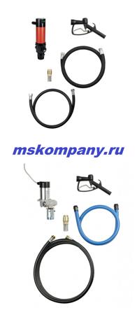 Переносной насос для дизтоплива, солярки на 12 вольт 23911 (12 B)