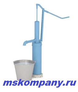 Ручной скважинный насос для забора воды с глубины до 16 метров