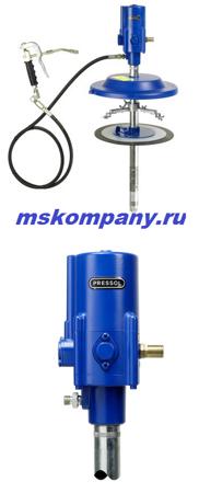 Система раздачи смазки с пневмонасосом Pressol 18419 051 (20 кг)