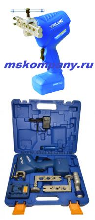 Набор для развальцовки медных трубок VET-19-F (с электроприводом)