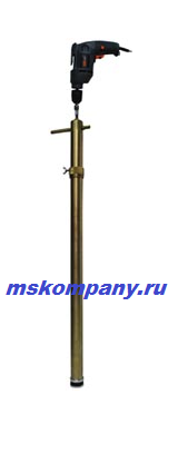 Насос бочковой с приводом от дрели БУЗУН НИ-1500