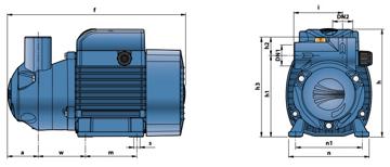 Насосы для дизельного топлива на 220 вольт  CKm 50-BP